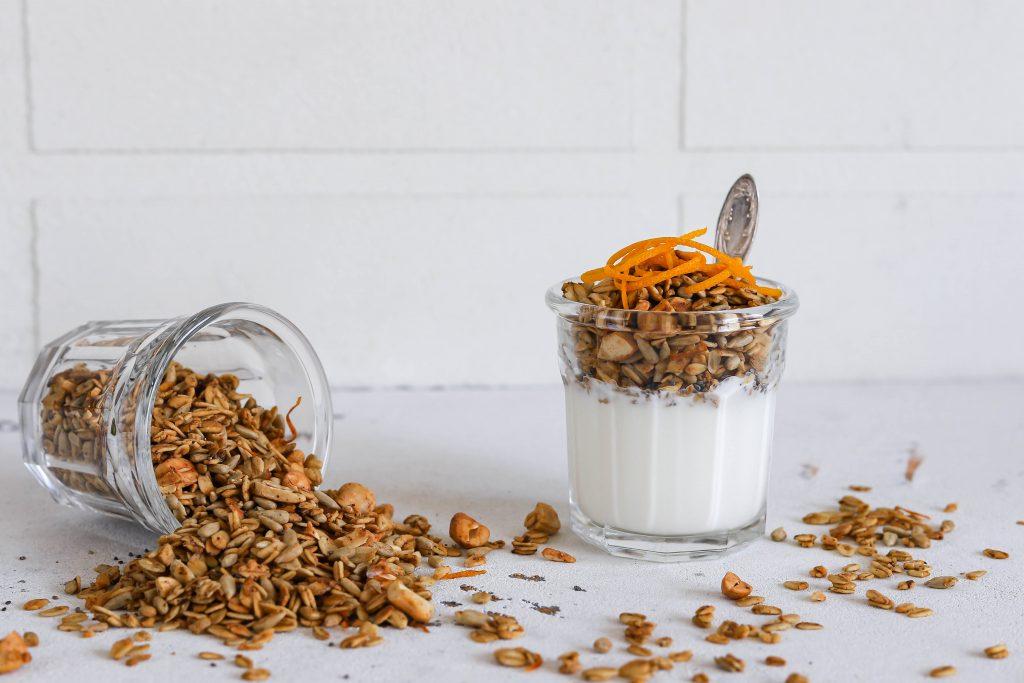 Apelsininė granola