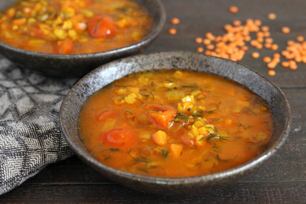 Aštri sriuba Rasam