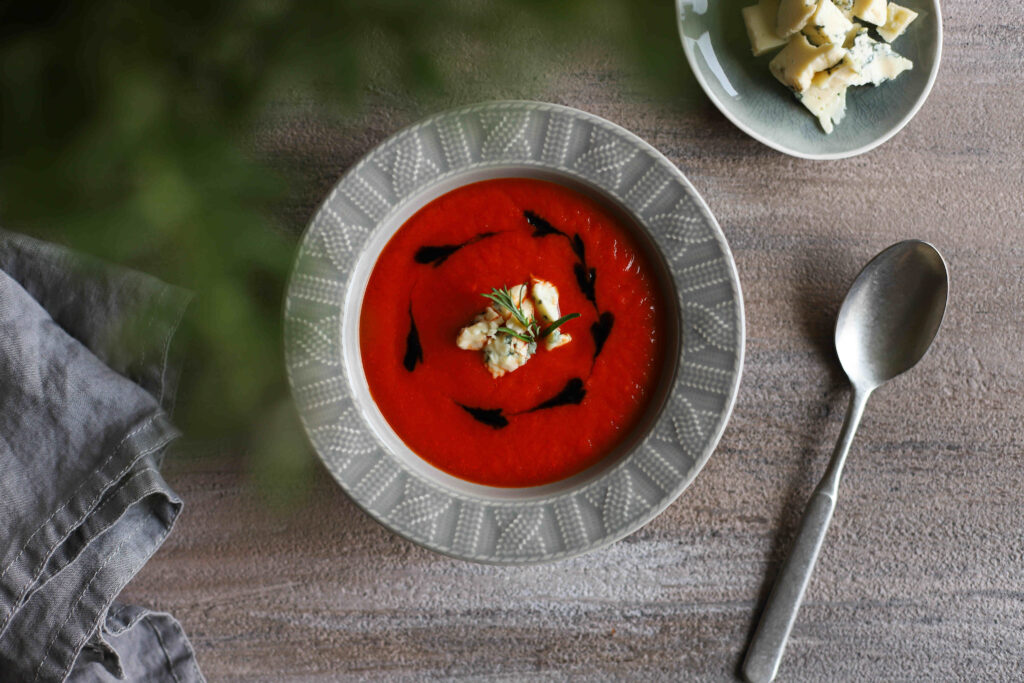 Moliūgų ir paprikų sriuba